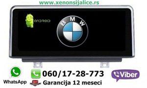 BMW 1 ANDROID NOVI TIP MULTIMEDIJA NAVIGACIJA TOUCH SCREEN 10 INCA