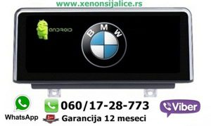 BMW 3 F30 ANDROID NOVI TIP MULTIMEDIJA NAVIGACIJA TOUCH SCREEN 10 INCA