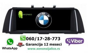 BMW X3 NOVI TIP ANDROID MULTIMEDIJA NAVIGACIJA TOUCH SCREEN 10 INCA