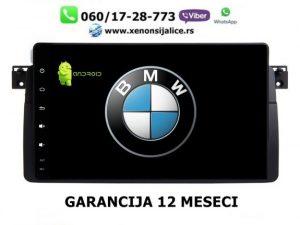 BMW 3 E46 ANDROID MULTIMEDIJA NAVIGACIJA TOUCH SCREEN 10 INCA