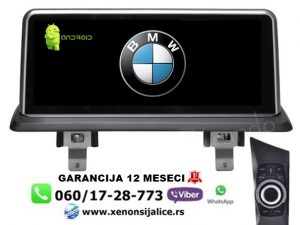 BMW 1 ANDROID MULTIMEDIJA NAVIGACIJA TOUCH SCREEN 10 INCA