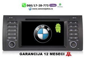 BMW 5 E39 7 E38 X5 E53 ANDROID MULTIMEDIJA NAVIGACIJA TOUCH SCREEN 7 INCA