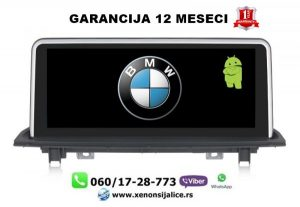 BMW X1 F48 ANDROID MULTIMEDIJA NAVIGACIJA TOUCH SCREEN 10 INCA