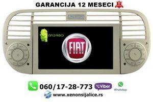 FIAT 500 MULTIMEDIJA ANDROID NAVIGACIJA TOUCH SCREEN 7 INCA