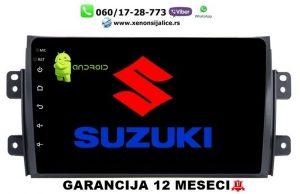SUZUKI SX4 MULTIMEDIJA ANDROID NAVIGACIJA TOUCH SCREEN 10 INCA